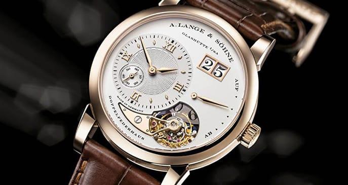 reloj alemán Lange&Sohnetourbillon