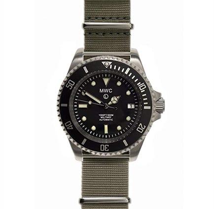 reloj militar MWC 24 jewel automático