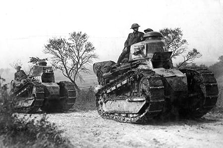 tanque renault ft 17