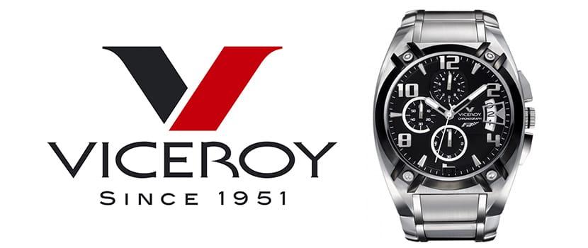 logo y reloj Viceroy