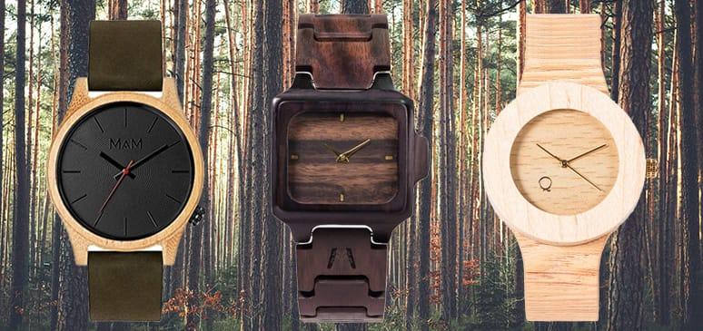 mejores relojes de madera