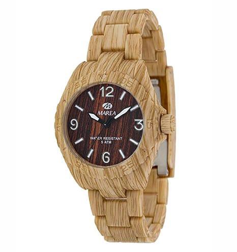 reloj marea de madera para mujer