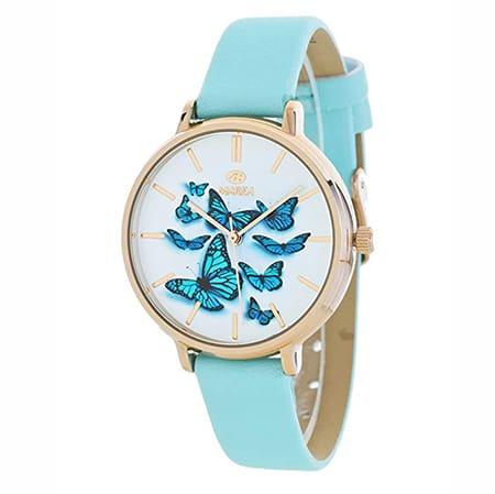 reloj marea de mujer con mariposas