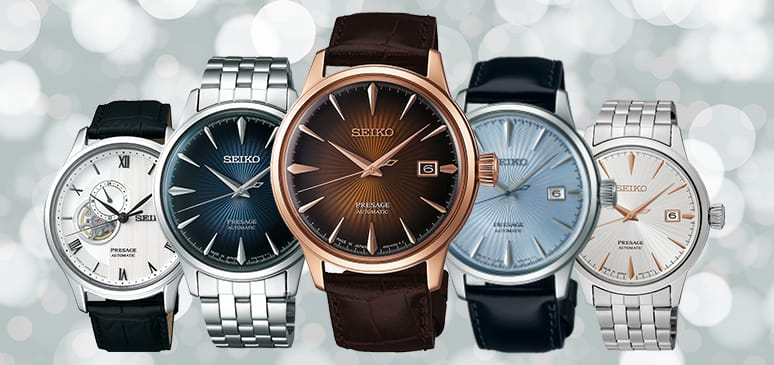 relojes seiko presage cocktail time