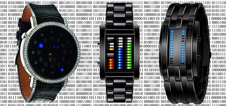 relojes binarios