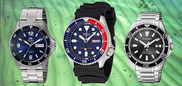 Los mejores relojes de buceo por menos de 500€  Top 10 Diver ... c241a3ab0295