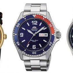 relojes Orient automáticos