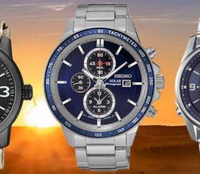 mejores relojes solares de pulsera