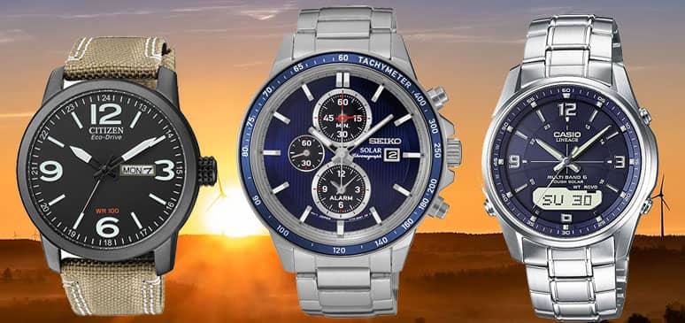 26c56efeb227 10 relojes solares de pulsera baratos de calidad  Mejores 2019 ...