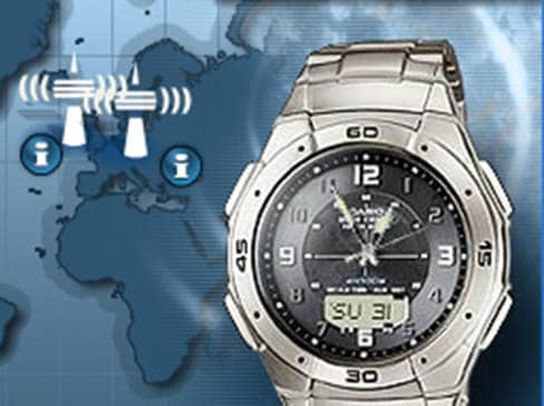 relojes radiocontrolados Casio Wave Ceptor