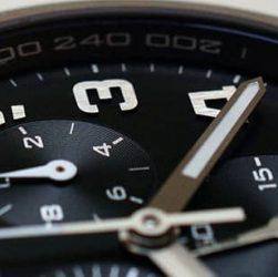 reloj con taquímetro