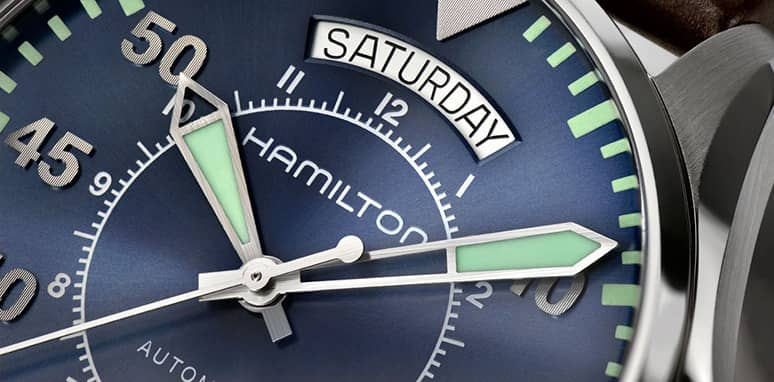 relojes americanos hamilton