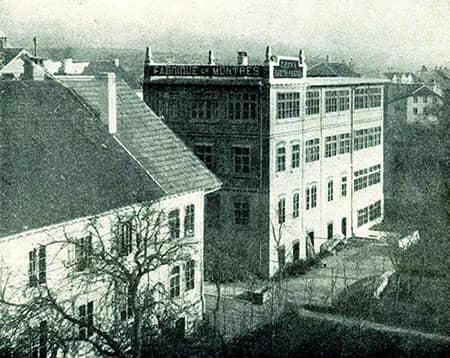antigua fábrica de Certina