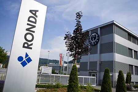 fabrica de Ronda en Suiza
