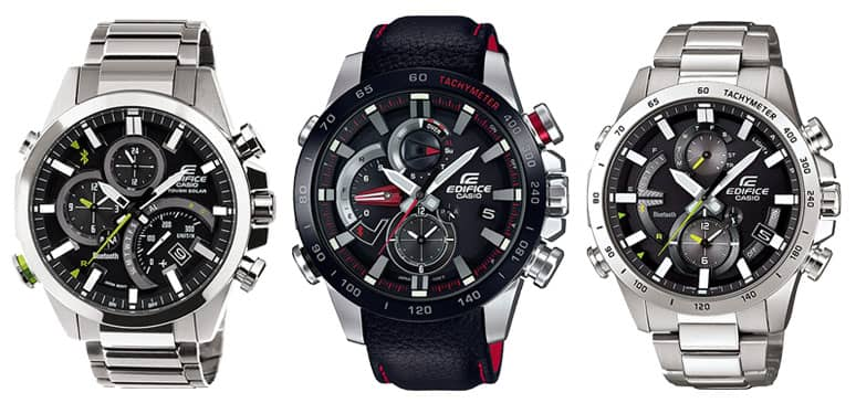 relojes casio edifice con bluetooth