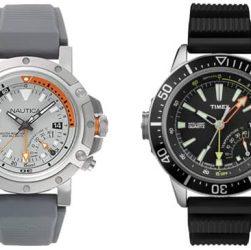 relojes Nautica VS Timex