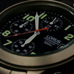 reloj lotus cronógrafo