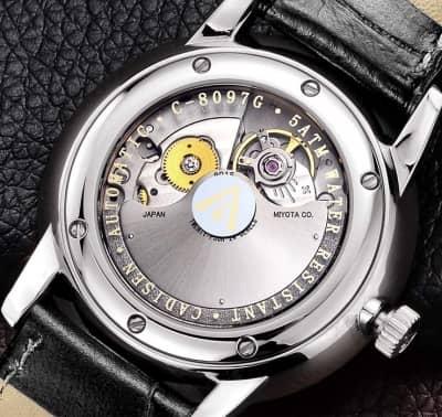 trasera reloj cadisen sapphire