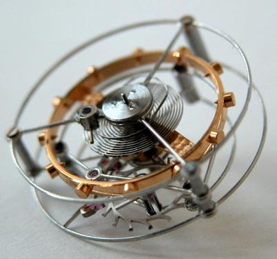 mecanismo de tourbillon