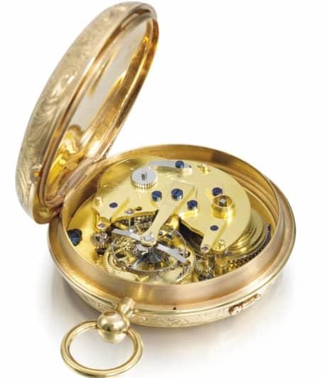 reloj de bolsillo con tourbillon