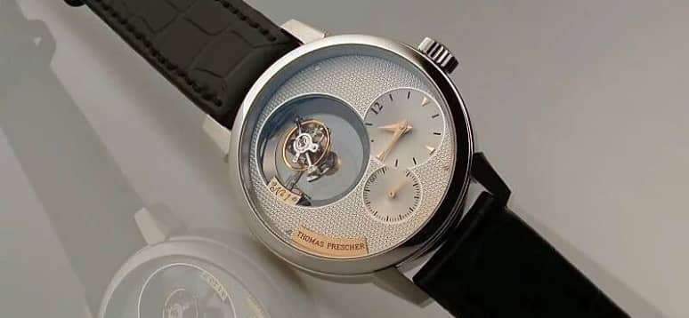 Tourbillon de triple eje by Prescher