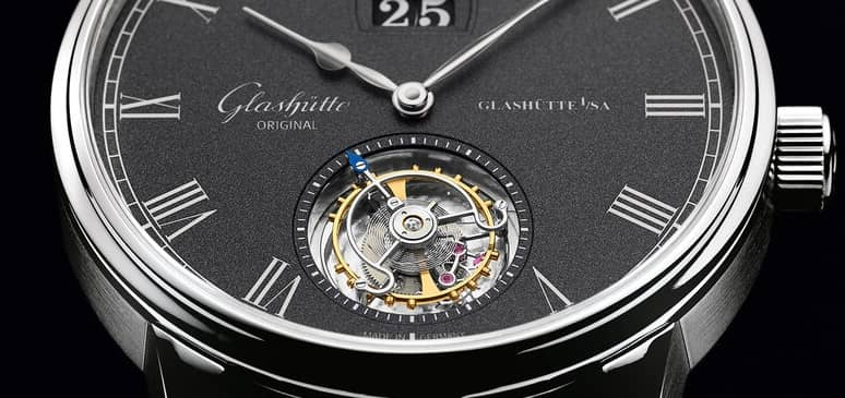 tourbillon volante glashütte